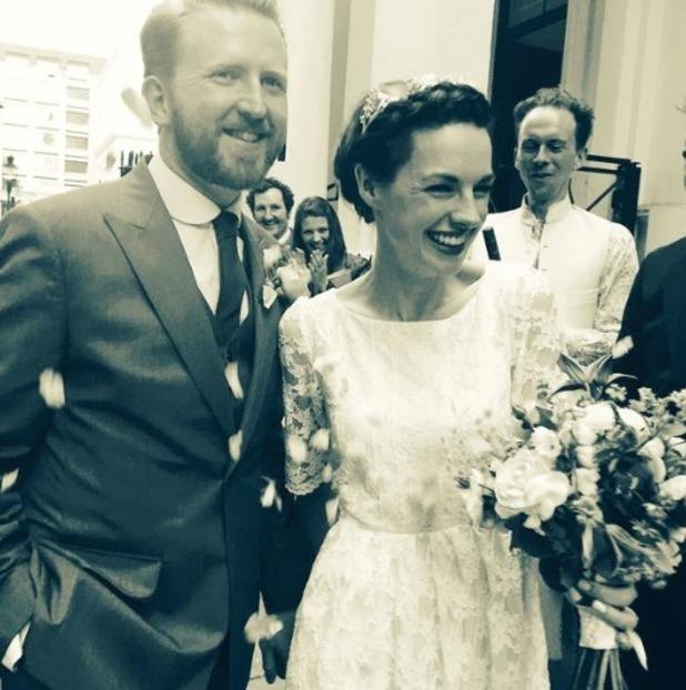 Tom Goodman-Hill marries Jessica Raine - 5 Sep 2015