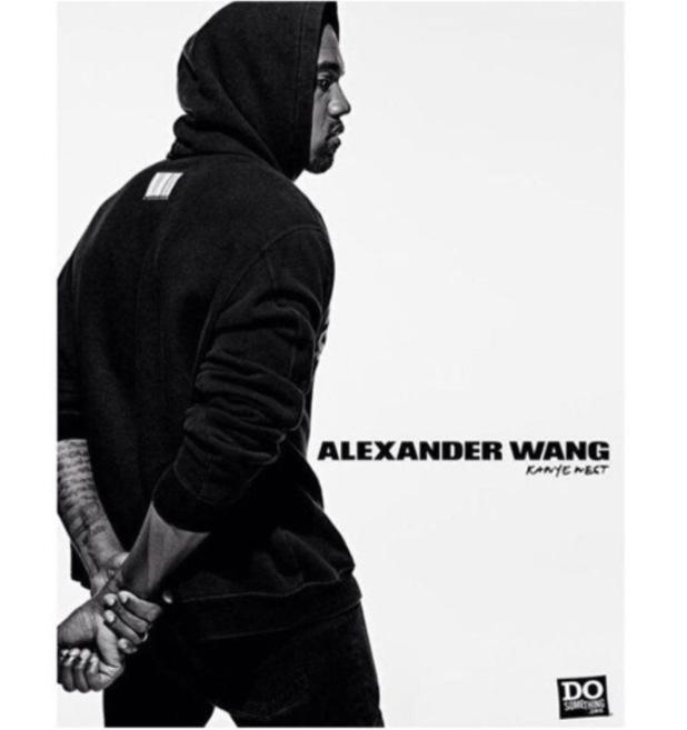 Kanye West models for Alexander Wang's DoSomething charity campaign 2nd September 2015