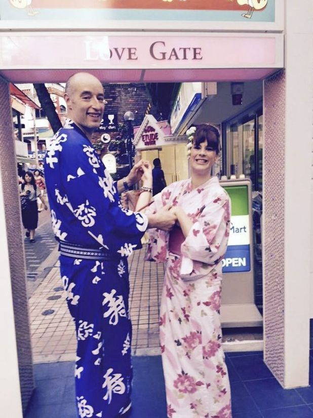 I'm happy to be different - Emma with Dave in Tokyo