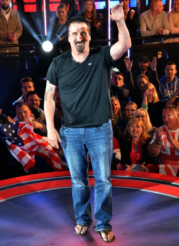 Daniel Baldwin is evicted from celebrity big brother - 4 Sep 2015