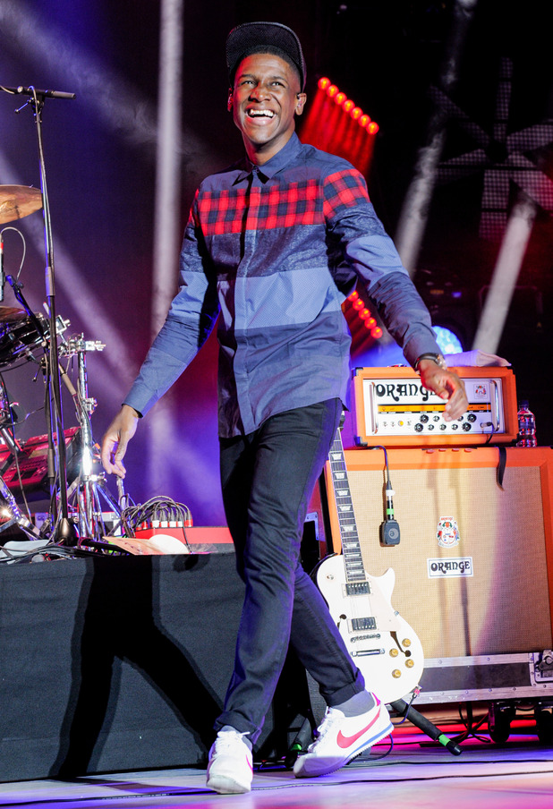 Labrinth performs at Fusion Festival 2015 - Birmingham - 29 August 2015.