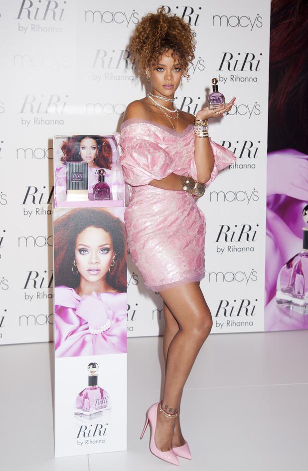 Rihanna Launches Her New Fragrance RiRi at Macys Brooklyn, 1st September 2015
