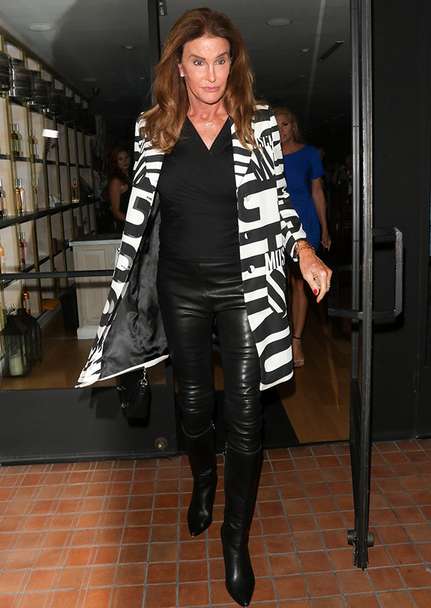 Caitlyn Jenner is seen on September 03, 2015 in Los Angeles, California.