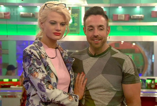 Celebrity Big Brother: Royal Arrival. Broadcast on Channel 5 HD Chloe-Jasmine and Stevi