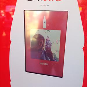 Coca Cola Selfie Booth at V Festival 2015