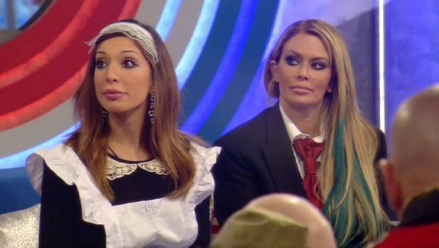 Celebrity Big Brother: UK vs USA' TV show, Elstree Studios, Hertfordshire, Britain - 01 Sep 2015 Paul reveals the Shopping Task rules - Farrah Abraham and Jenna Jameson