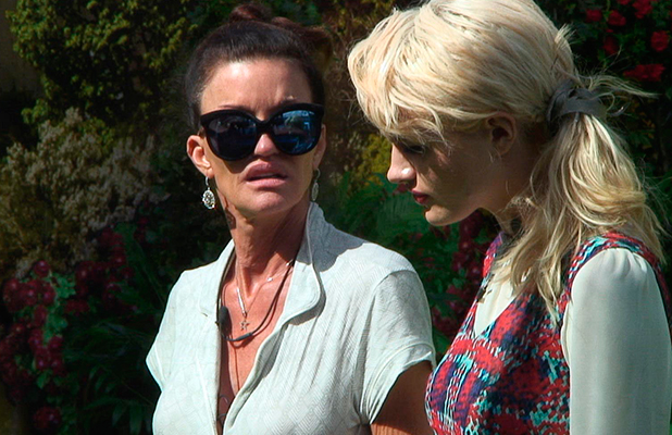 Celebrity Big Brother autumn 2015: day six grabs Janice and Chloe