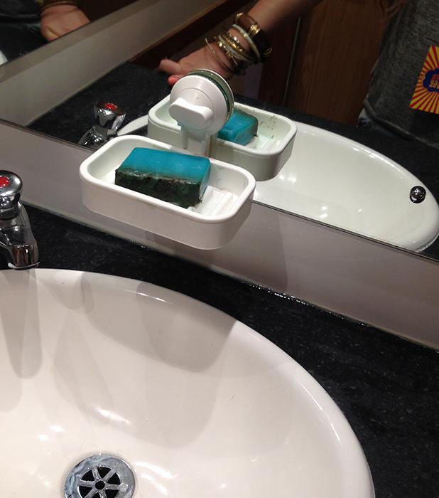 Virgin Media Louder Lounge Lush soap