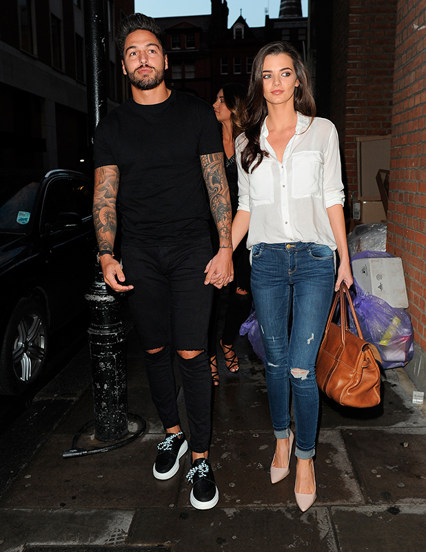 Jeans for Genes Party at Chinawhite Mario Falcone and Emma McVey 2 September 2015
