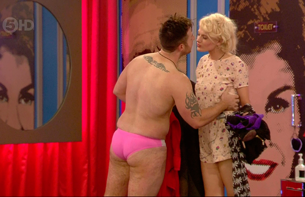 Celebrity Big Brother, Broadcast on Channel 5 HD Stevi talks to Chloe-Jasmine