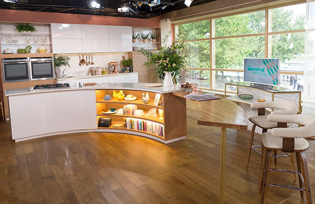 This Morning' TV Programme, London, Britain - 01 Sep 2015 New Studio Set