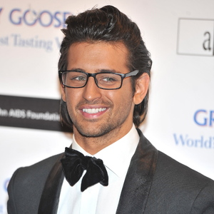 Ollie Locke at the Grey Goose Winter Ball held at the Battersea Power Station. London, England - 10.11.12.