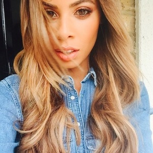 Rochelle Humes shows off bronde hair style on Instagram, 11th September 2015