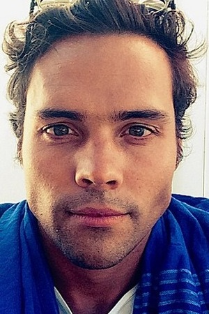 Former Made In Chelsea star Andy Jordan poses for a selfie, August 2015