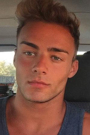 Big Brother star Cristian MJC poses for a selfie on Instagram, September 2015
