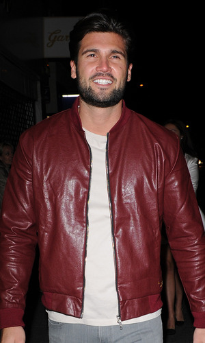 TOWIE's Dan Edgar heads to Chloes Beauty bar for chloe sims launch of her Vlog. 10 September 2015.