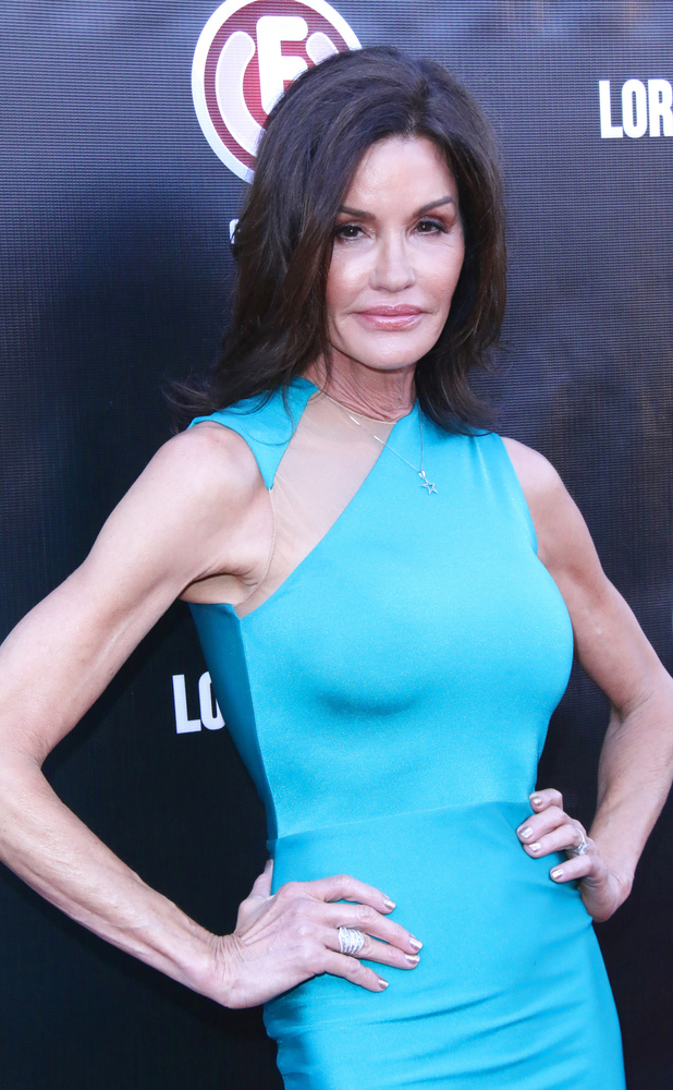 Janice Dickinson at the premiere of the film 'Lord of the Freaks' 30/06/2015