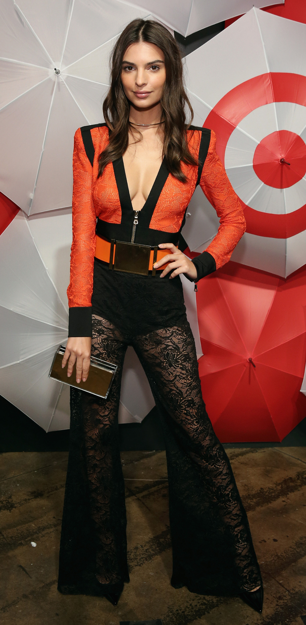 Emily Ratajkowski at the TargetStyle in Vogue event in New York, 10th September 2015