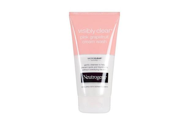 Neutrogena Visibly Clear Cream Wash £4.99, 10th September 2015