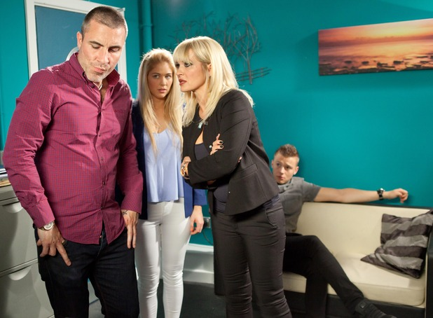 Hollyoaks, Trevor and Ashley plan a kidnap, Wed 9 Sep
