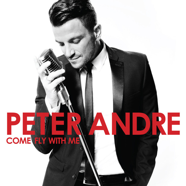 Peter Andre's new album, Come Fly With Me.