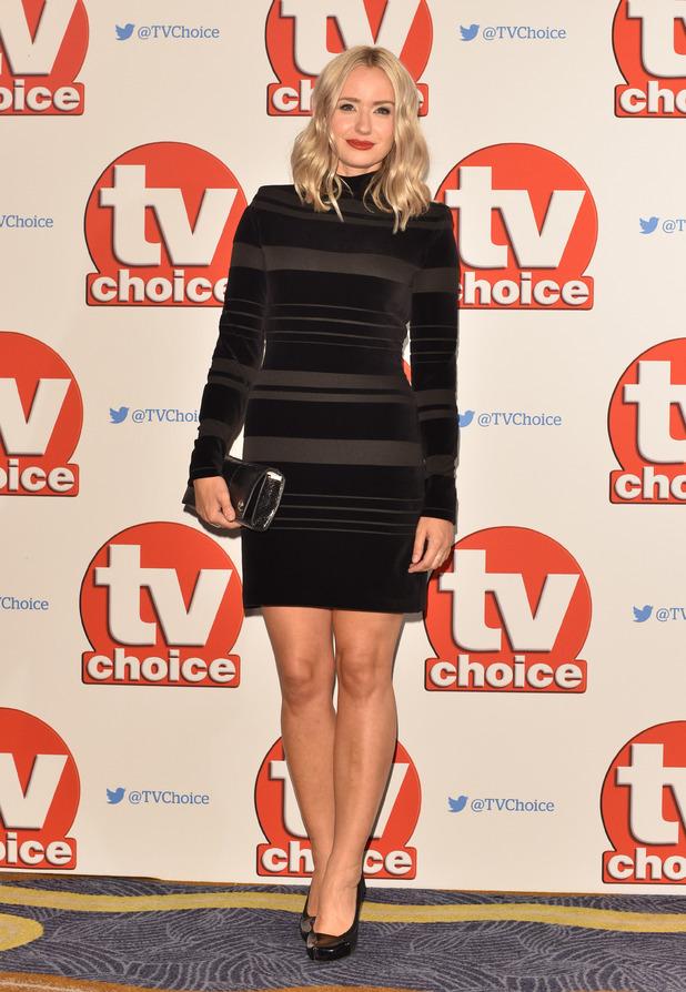 Sammy Winward at the 2015 TV Choice Awards held at the Hilton Park Lane - London, United Kingdom - 7/9/15.