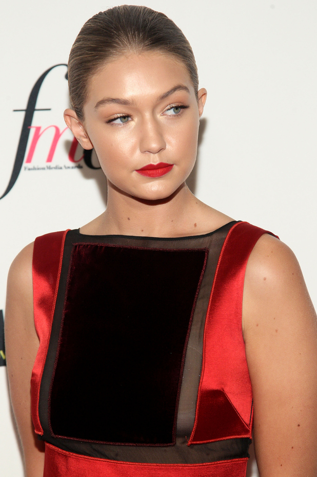 Gigi Hadid at the Annual Fashion Awards in New York, 11th September 2015