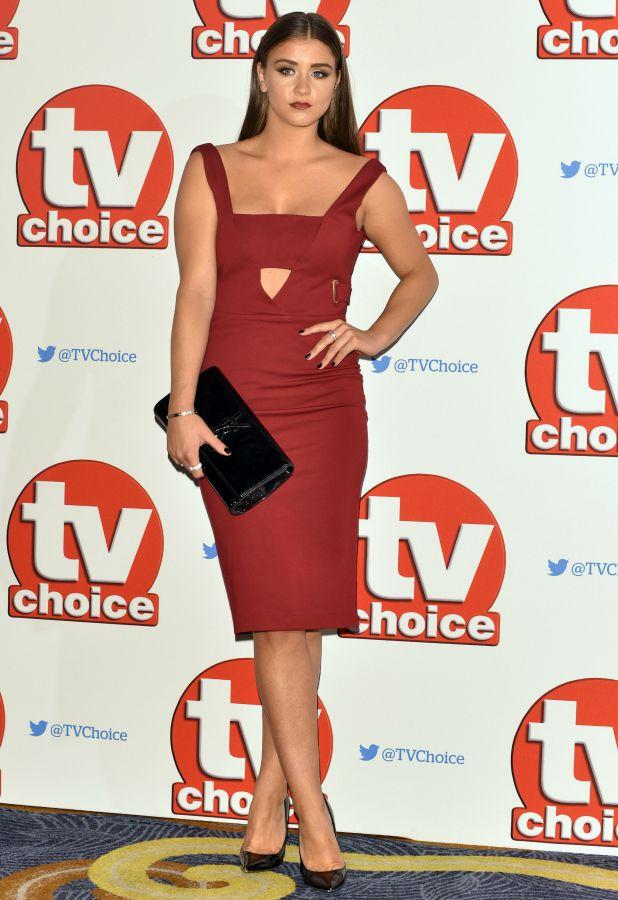 The 2015 TV Choice Awards held at the Hilton Park Lane Brooke Vincent
