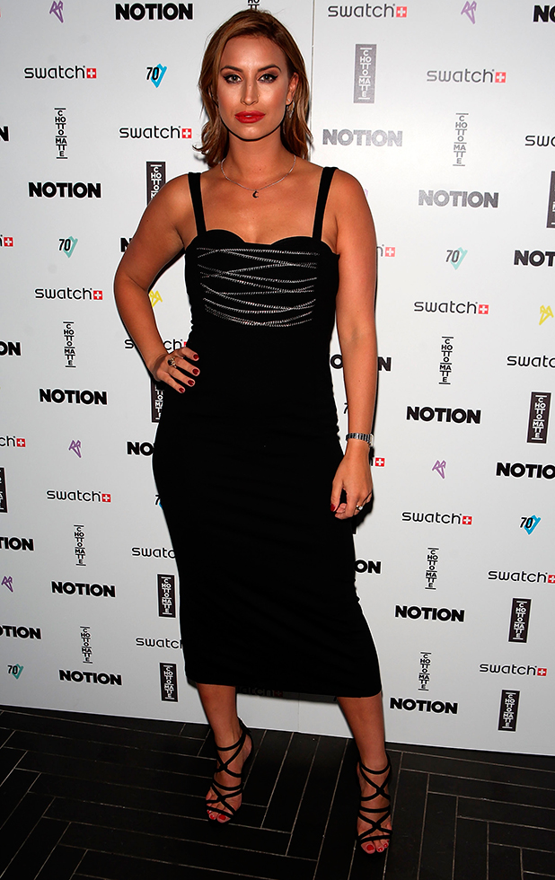 Ferne McCann attends the Notion Magazine X Swatch Issue 70 launch party at Chotto Matte on September 9, 2015 in London, England. (Photo by David M. Benett/Dave Benett/Getty Images)