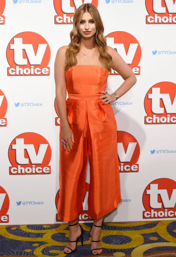 TV Choice Awards, London, Britain - 07 Sep 2015 Ferne McCann