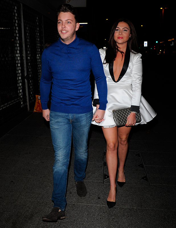 TOWIE's Fran Parman, Diags at Chloe Sims' One Vlog Launch in Essex 10 Sep 2015