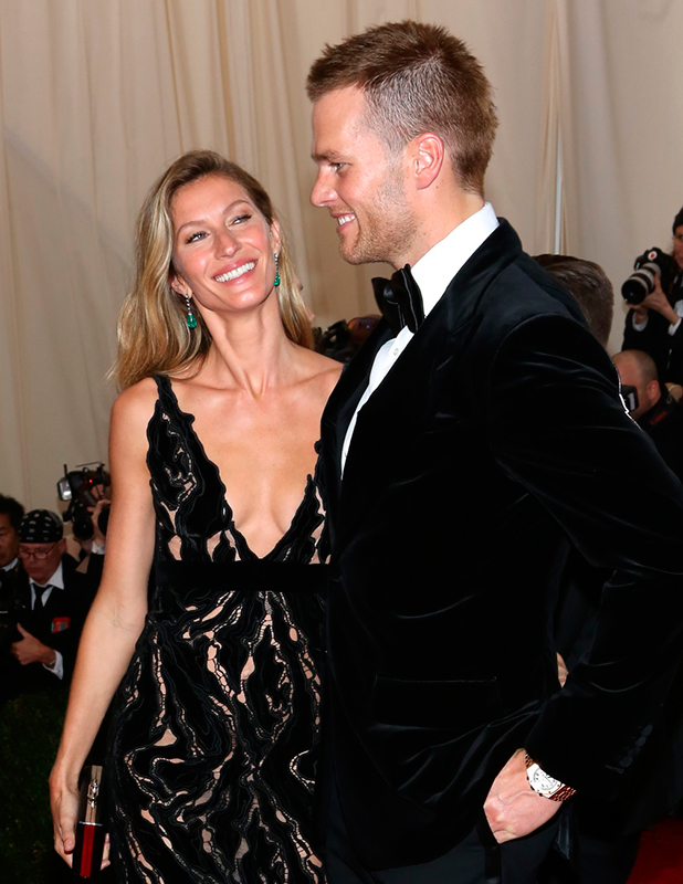 Charles James: Beyond Fashion' Costume Institute Gala at the Metropolitan Museum of Art - Outside Arrivals Gisele and Tom Brady 2014