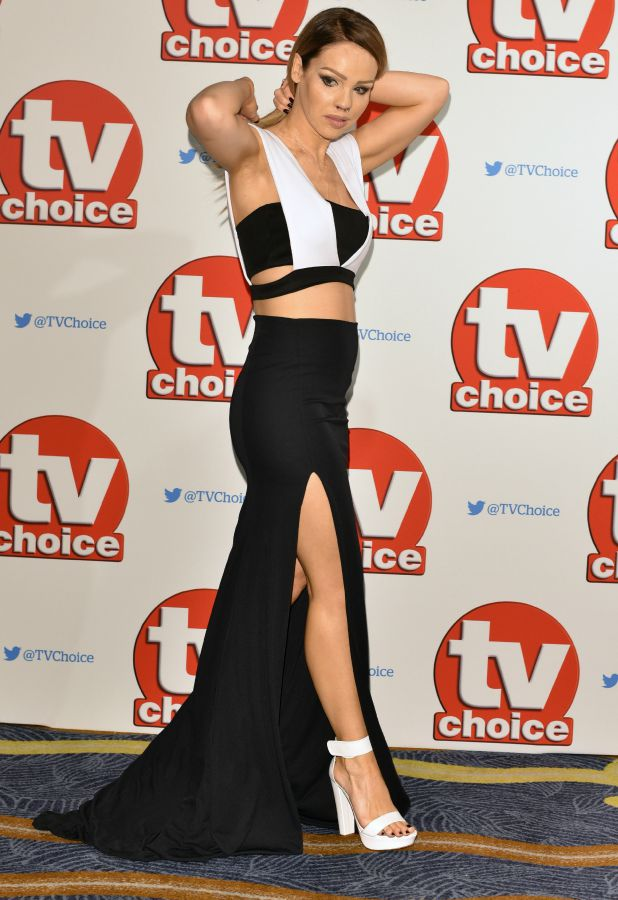 The 2015 TV Choice Awards held at the Hilton Park Lane. Katie Piper
