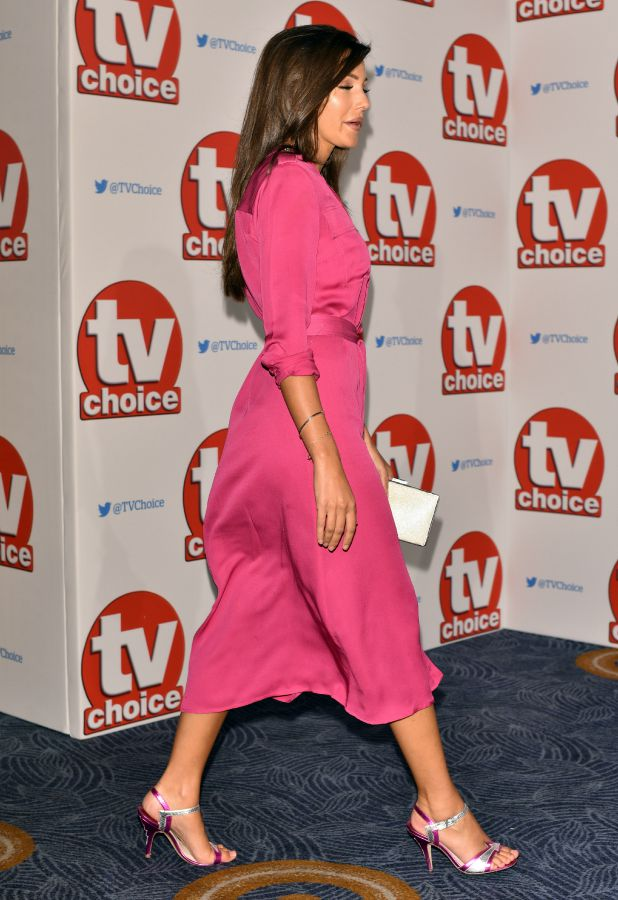 The 2015 TV Choice Awards held at the Hilton Park Lane. Michelle Keegan and Mark Wright