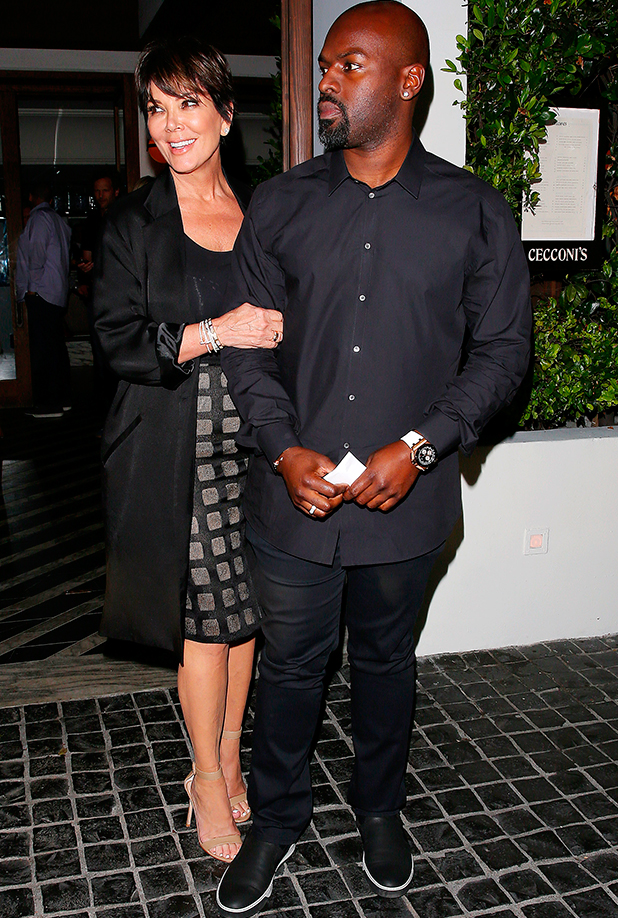 Kris Jenner and Corey Gamble out and about, Los Angeles, America - 10 Sep 2015