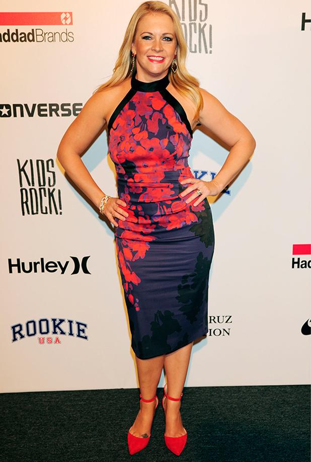 Kids Rock! show, Spring Summer 2016, New York Fashion Week, America - 10 Sep 2015 Melissa Joan Hart