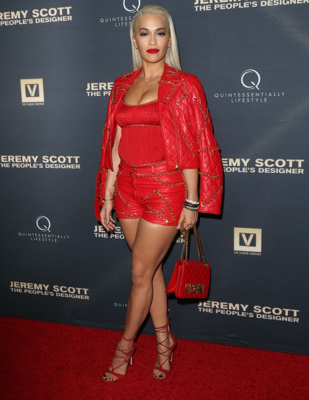 World Premiere Of 'Jeremy Scott: The People's Designer' Rita Ora 8 Sep 2015