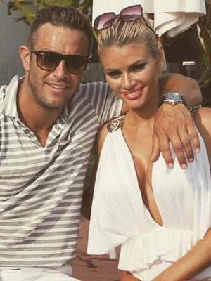 TOWIE: Elliott Wright and Chloe Sims in Marbella in June 2015.