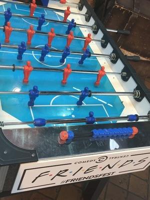 Comedy Central's FriendsFest - foosball table - 16 September 2015.