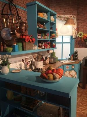 Comedy Central's FriendsFest - Monica Geller's kitchen - 16 September 2015.