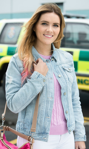 BBC One's Casualty - arrival of Alicia Munroe. Transmission Date: 19/9/2015