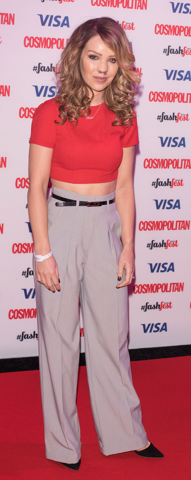 Katie Piper at the Cosmopolitan FashFest in London, 18th September 2015