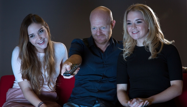 Jacqueline Jossa, Lorna Fitzgerald and Jake Wood star in the second series of EastEnders: Back To Ours. October 2015.