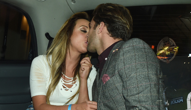 'Geordie Shore' star Charlotte Crosby and 'Love Island' star Max Morley kiss 3 September