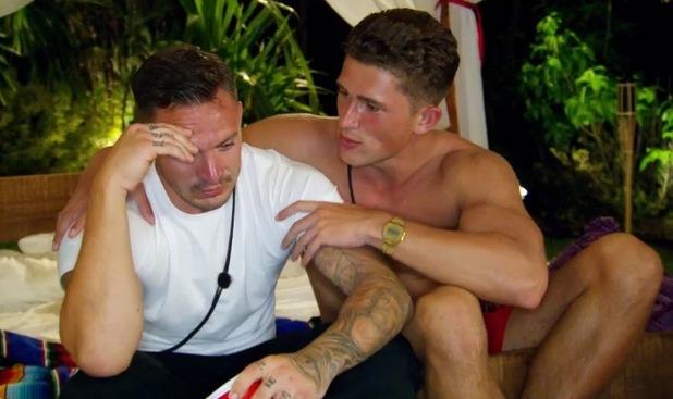 Kirk Norcross and Jordan Davies on Ex On The Beach 15 September