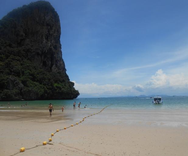 Railay Beach, Thailand, 14/9/15