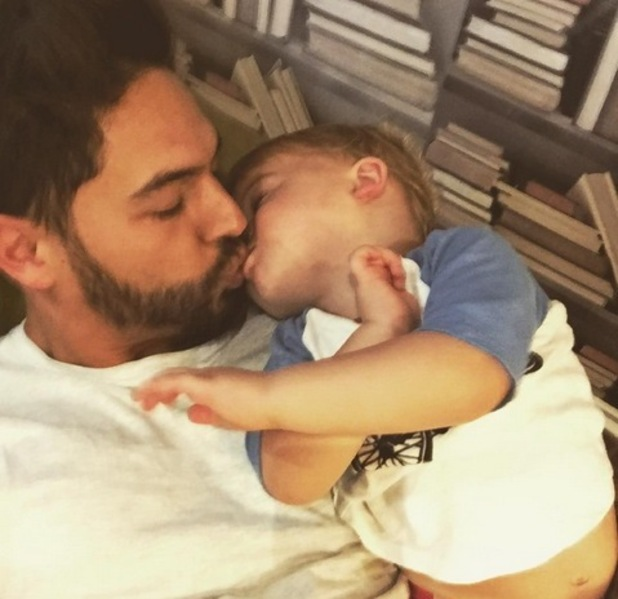 Mario Falcone and nephew Buzz Fletcher 13 September