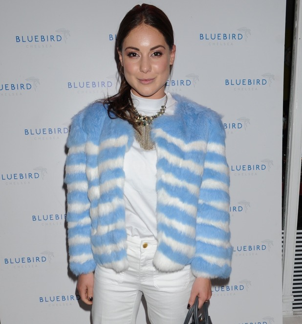 Made in Chelsea's Louise Thompson at Bluebird End of Summer Party in London, 16th September 2015