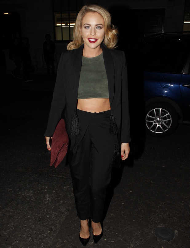 Lydia Bright attend the Fleur De Force Fashion Party, London 17 September