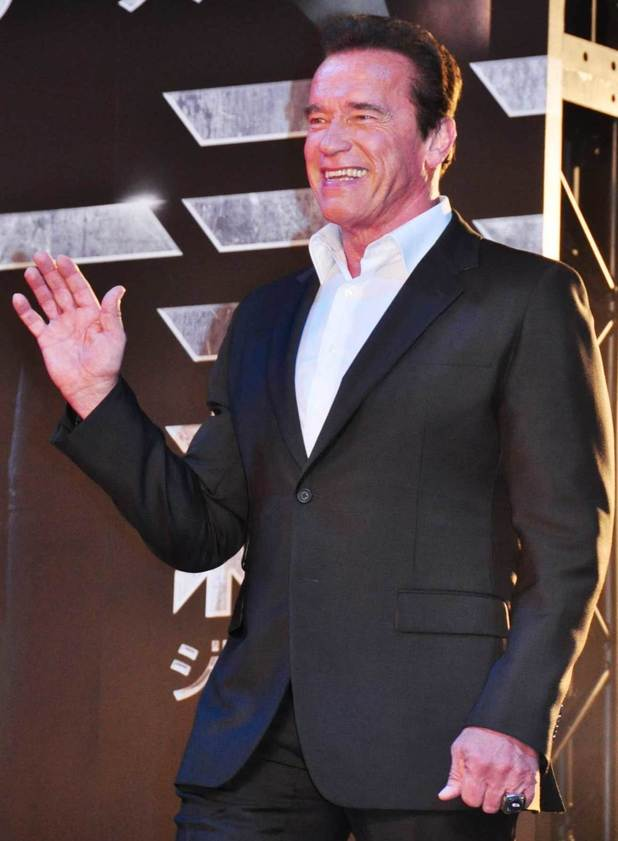 Arnold Schwarzenegger at the Japanese premiere of 'Terminator Genisys' at the Roppongi Hills Arena - 07/06/2015.